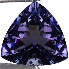 Beautiful Dazzling Trillion *Tanzanite* Loose Gemstone 3.5 Carats 8 x 8 x 8 mm
