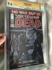 THE WALKING DEAD 80 CGC SS 9.6 ~CONVENTION Variant~ 2x Sig Adlard + Kirkman
