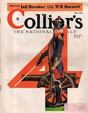 1934 Colliers July 7 Campfire meals; Dr. Seuss; Fu Manchu, Sax Rohmer