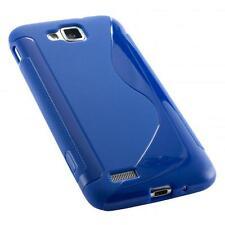 Samsung Ativ S i8750 case blau schutz hülle handy tasche cover schale