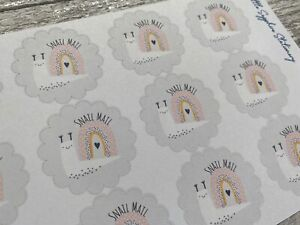 Grey Snail Mail Stickers Stationery Penpal Planner Writing Set Letter Planner