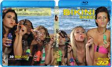3D Bikini Beach Babes Issue #3 Blu-Ray 3D NICE! 3-D Bluray Movie!