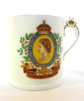 Vintage Queen Elizabeth Coronation Mug Numbered 8572/A