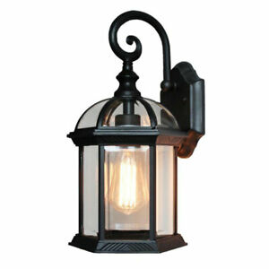 Outdoor Wall Lantern,Wall Mounted Light Fixtures Sconces for Porch, one-light