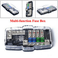 Motorcycle Car Audio Accessories Fuse Box With LED Light Modified Audio Line Box