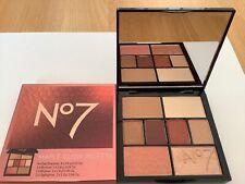 No 7 Maple Glow Palette (4 Eyeshadows, Bronzer, Blusher, 2 x Highlighter)