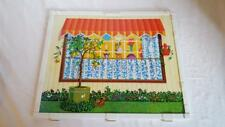 1970 Barbie Lively Livin House Replacement Part, Mattel, Grass Yard Outside Wall