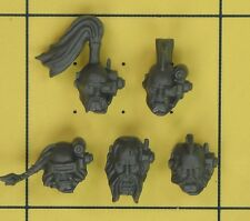 Warhammer 40K Space Marines Space Wolves Wolf Pack Scout Heads (C)
