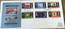 Bailiwick Of Guernsey FDC 1971 Decimal Currency Definitive Issue