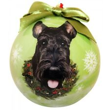 Scottie ~ Scottish Terrier Christmas Ball Ornament