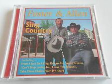 Foster & Allen - Sing Country (CD Album) Used Very Good