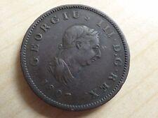 George III Half-Penny 1807 (myrefn12309)