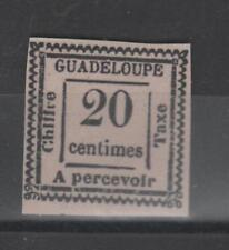Guadeloupe - Timbre Taxe n° 9 a neuf * * - C:1200,00 €