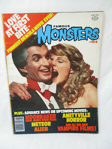 Vintage FAMOUS MONSTERS Magazine # 154 Jun 1979 Love At First Bite