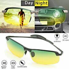 Tac HD+ Polarized Day Night Vision Glasses Men Aviator Driving Sports sunglasses