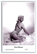 Cleo Moore (C) Swiftsure Postcard year 2000 modern print P263/2 risque photo