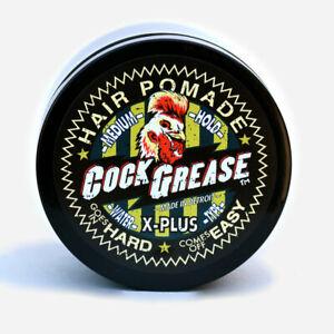 Cock Grease X-Plus Light Medium Hair Pomade