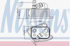 Nissens 90688 Oil Cooler BMW 3-SERIES E46  98-