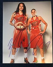 Diana Taurasi & Brittney Griner signed 8 X 10 Photo Autographed