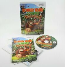 Donkey Kong Country Returns (Nintendo Wii, 2010) with Manual - PAL