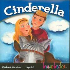 Cinderella Bingo Books PC MAC CD story read Spanish English translation phonics!