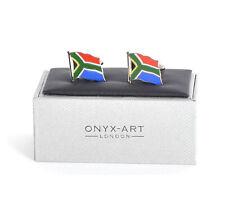 Boutons de Manchette - Afrique Du Sud Drapeau - Mariage Marié Best Man Chemise