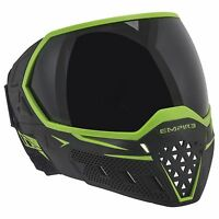 New Empire EVS Thermal Paintball Goggles Mask - Black / Lime Green
