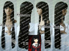 2015 Hot sell!!Hell Girl Enma Ai black Cosplay Wig 80cm Free shipping