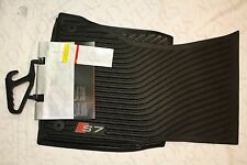 AUDI S7 RUBBER ALL WEATHER FLOOR MAT FRONT SET OEM  2013-2018 New 4G8061221A041
