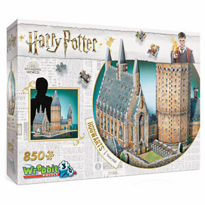 Harry Potter: Hogwarts Great Hall 850pc 3D Puzzle Jigsaw