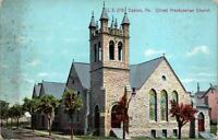 Easton PA Olivet Presbyterian Church Postcard unused 1900s/10s