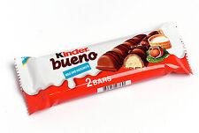 30 x 2 Bars Per Pack Full Box Kinder Bueno Chocolate (Fresh UK Stock)