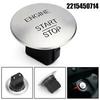 Keyless Go Start Stop System Push Button Engine Ignition Switch 2215450714Silver