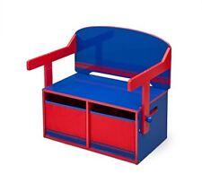 Delta Children - Tb84566gn Banc & bureau Bleu et Rouge