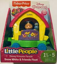 Fisher-Price Little People ~ Disney Princess Parade Snow White & Friends Float