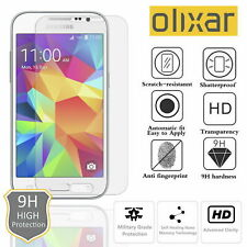 Galaxy S6 EDGE CURVED Tempered Glass Screen Impact Protection by OLIXAR BOXED