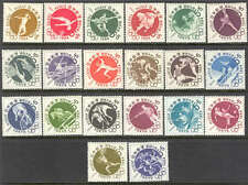 JAPAN 1961/1964 TOKYO OLYMPIC GAMES complete issue - mint  MNH