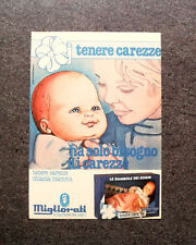 K733- Advertising Pubblicità -1980- TENERE CAREZZE , MIGLIORATI