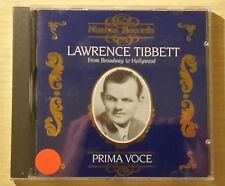 LAWRENCE TIBBETT - FROM BROADWAY TO HOLLYWOOD - CD SIGILLATO (SEALED)