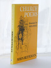 John Betjeman - Church Poems 1st Edition 1980 HB DJ