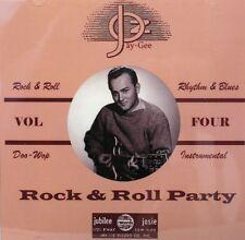 ROCK & ROLL PARTY - Vol. #4 - 25 VA Tracks on Jay-Gee