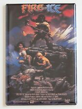 Fire and Ice FRIDGE MAGNET (2 x 3 inches) movie poster fantasy