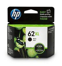 New OEM Genuine HP 62XL (C2P05AN) BLACK Printer Ink Cartridge Exp 2020