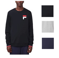 NEW Fila Men's French Terry Crew Neck Sweatshirt