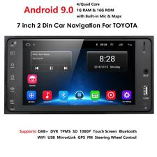 Android 9.0 for TOYOTA RAV4, PREVIA ETC.. CAMERA, GPS WIFI RDS Car Radio stereo