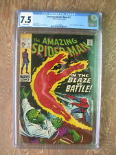 Amazing Spider-Man   #77   CGC 7.5   Human Torch and Lizard appear