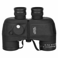 2019 10X50 Waterproof Military Binoculars Prism with Range finder Compass B M5V8