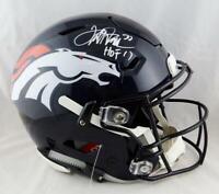 Terrell Davis Signed Denver Broncos F/S SpeedFlex Helmet w/HOF - JSA Auth