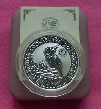 1997  KOOKABURRA 2oz CROWN PRIVY MARK  SILVER PROOF $2 COIN BOX AND COA