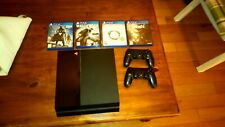 Sony Playstation 4 500GB with Two Controllers and four games